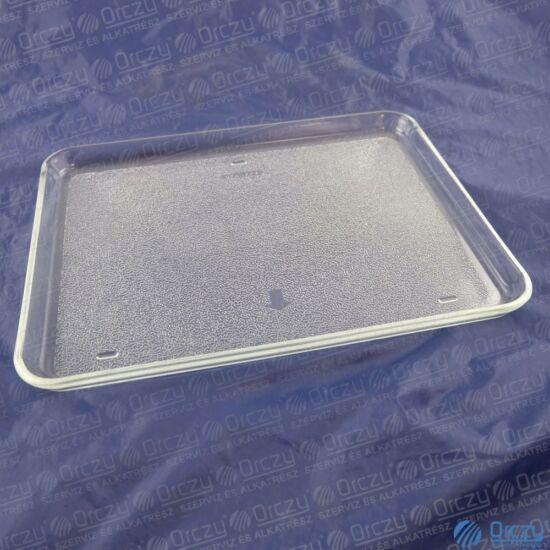 265X343 MM Tepsi,üveg (eredeti) BOSCH mikrohullámú sütő / RENDELÉSRE
