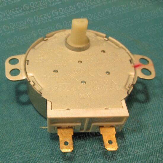 Motor, tányérforgató TYJ50-8A7 (eredeti) GORENJE/MORA mikrohullámú sütő / RENDELÉSRE