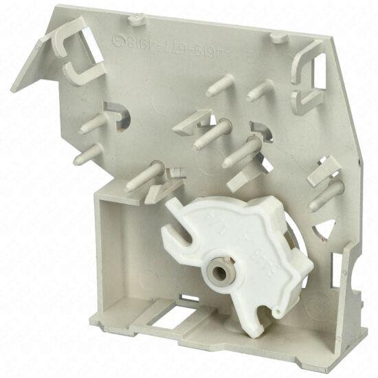 Tartó ajtókapcsoló ( alsó-felső) (eredeti) WHIRLPOOL mikrohullámú sütő / RENDELÉSRE