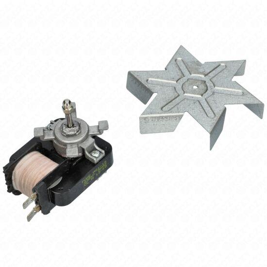 Motor (ventilátor, bontott, eredeti) WHIRLPOOL mikrohullámú sütő