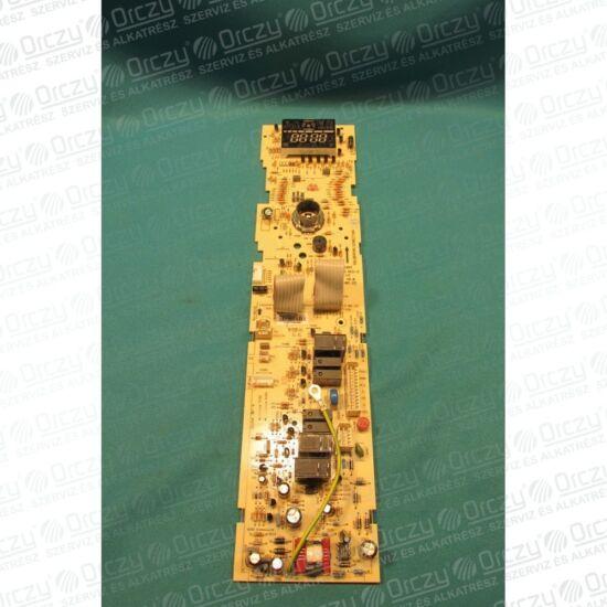 Elektronika (vezérlő + kijelző, eredeti) WHIRLPOOL mikrohullámú sütő /RENDELÉSRE