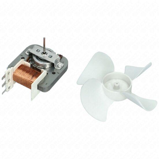 Ventilátor motor (lapáttal, bontott, eredeti) BEKO mikrohullámú sütő