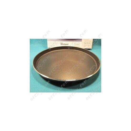 Crisp tál (fém, lapos) (eredeti) WHIRLPOOL mikró WPRO AVM305 /RENDELÉSRE