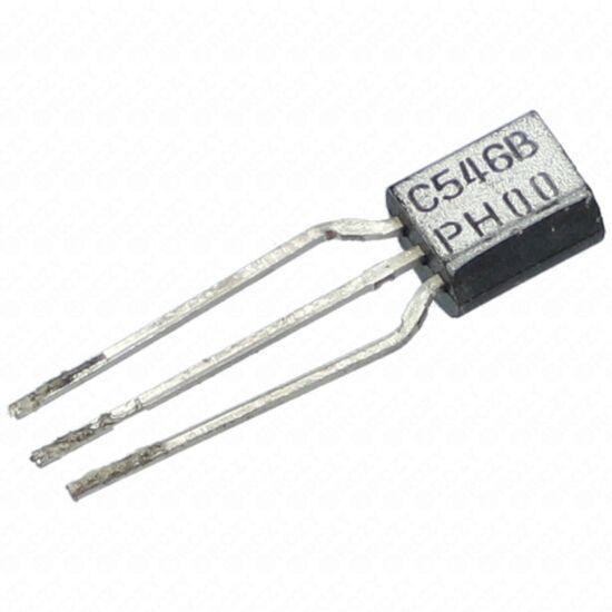 Tranzisztor BC546B SI-N 50V 0.1A 0.5W 100MHz