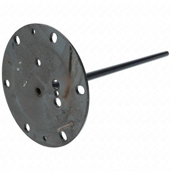420x170 mm Zárófedél (zománcos, hosszú tokcsöves) HAJDU K-s bojler (új típusú)
