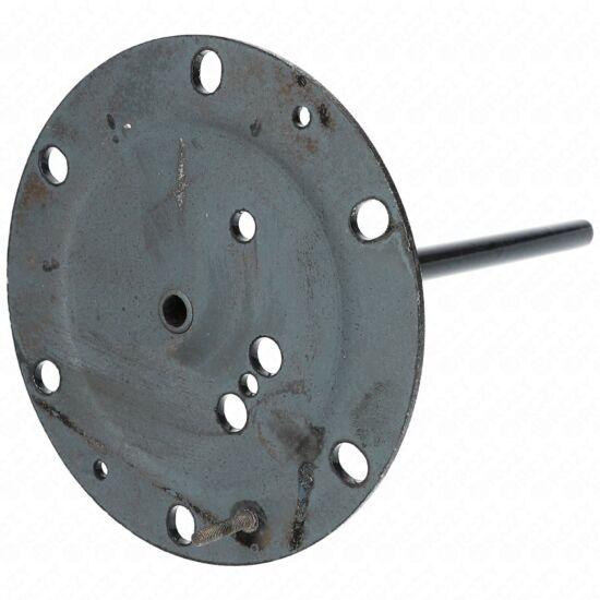 320x170 mm Zárófedél (zománcos, rövid tokcsöves, eredeti) HAJDU K-s bojler (új típusú)