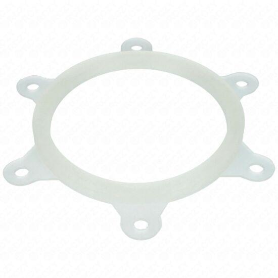 121x102x7 mm Tömítés (zárófedél, 6 lyukú, fehér) HAJDU K-s új típusú bojler 10db-os csomag