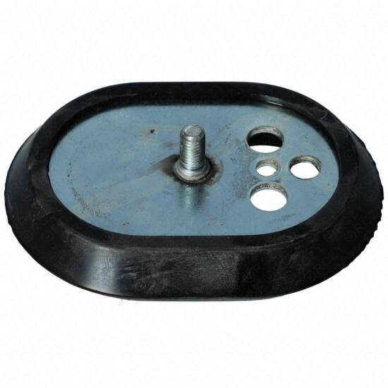 116x86,5 mm Zárófedél + tömítés (ovális, utángyártott) (rövidebb tengellyel) ARISTON  bojler