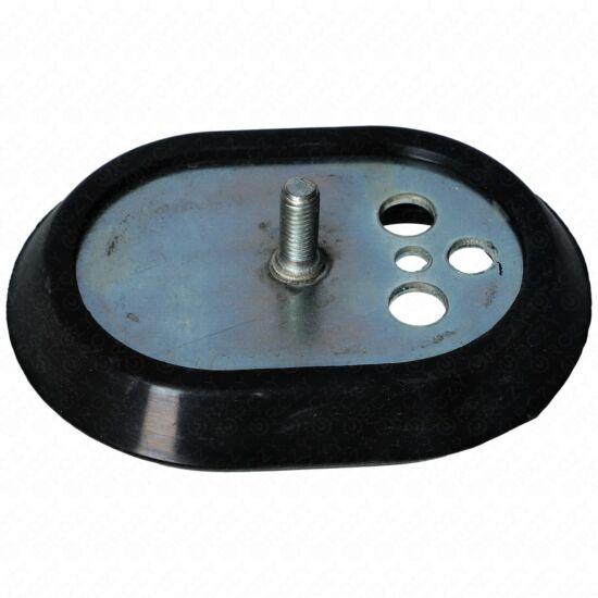 116x86,5 mm Zárófedél + tömítés (ovális, eredeti) ARISTON  bojler