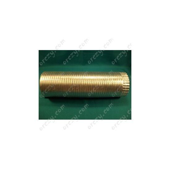 Szagelszívó, páraelszívó cső L=1,5 m, D=120mm (alumínium, flexibilis) WPRO CHT154 / RENDELÉSRE