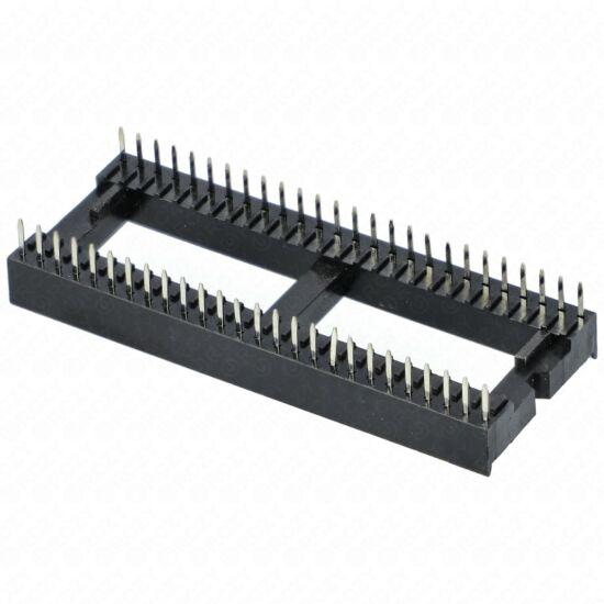 IC foglalat 52 lábú RM:1,778mm sűrűlábú /RENDELÉSRE