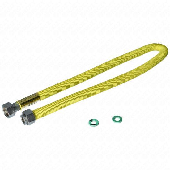 75-150 cm-es nyújtható gázbekötő cső 1/2-1/2BB PEPE