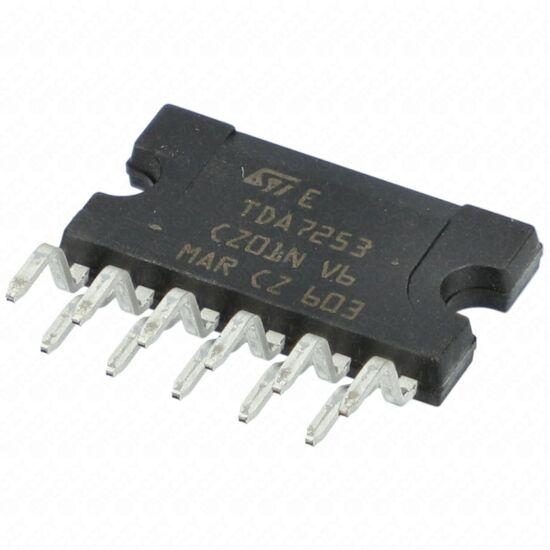 IC TDA7253 NF-POWER AMP.35V 2.5A 10W 11p / RENDELÉSRE