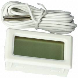 Hőmérő digitális elemes -50 - +70 (fehér) EGYSZERŰ TPM10 (Sz.: 45mm, M.: 26mm, Mélység: 13mm)