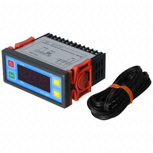 -45 - 70 °C Hőfokszabályzó elektronika, 1 szondás (STC 200)