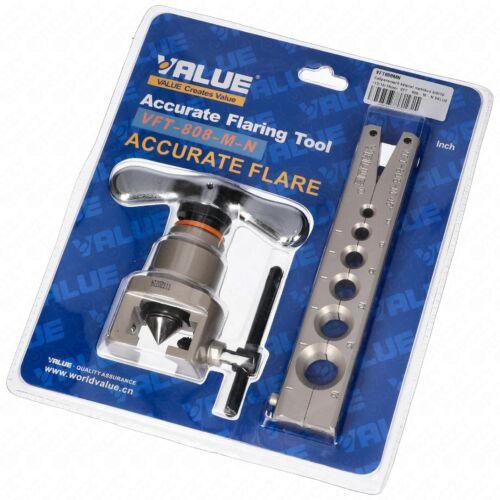 Csőperemező készlet metrikus 6/8/10/12/16/19mm  VFT-808-M-N VALUE
