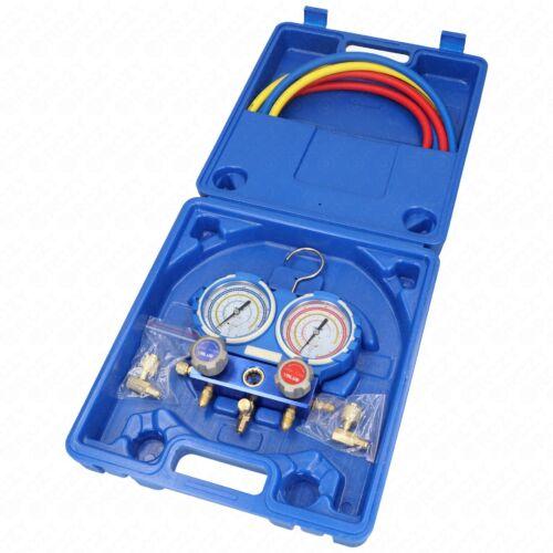 Csaptelep készlet, dupla, kétcsapos VMG-2-R410A-02 ( R-410A; R-407C; R-134a;R-404 hűtőközegekhez) VALUE