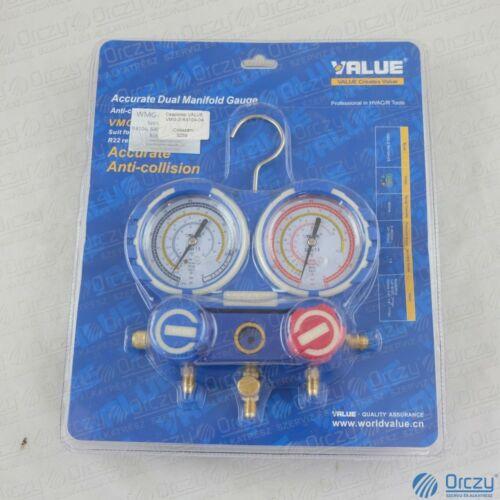 Csaptelep dupla VMG-2-R410A-04 (R-134a; R-404A; R-407C; R-410A hűtőközegekhez) VALUE