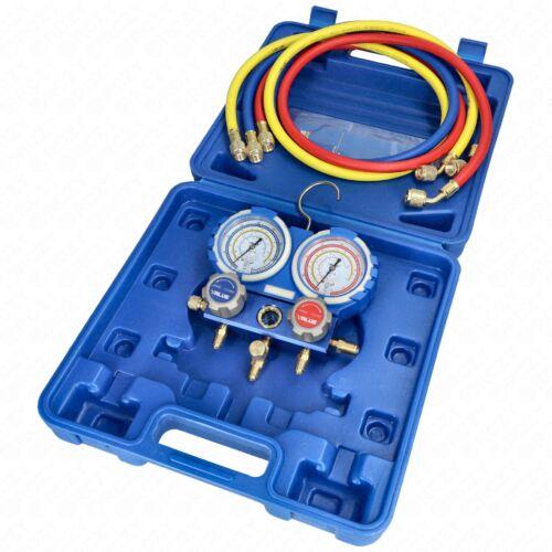 Csaptelep készlet, dupla, kétcsapos VMG-2-R410A-B ( R22, R134a, R407c, R410a hűtőközegekhez) VALUE