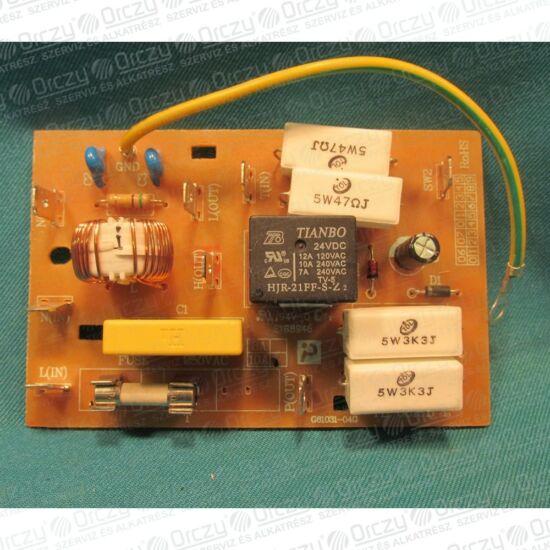 Zavarszűrő elektronika (eredeti) GORENJE/MORA mikrohullámú sütő / RENDELÉSRE
