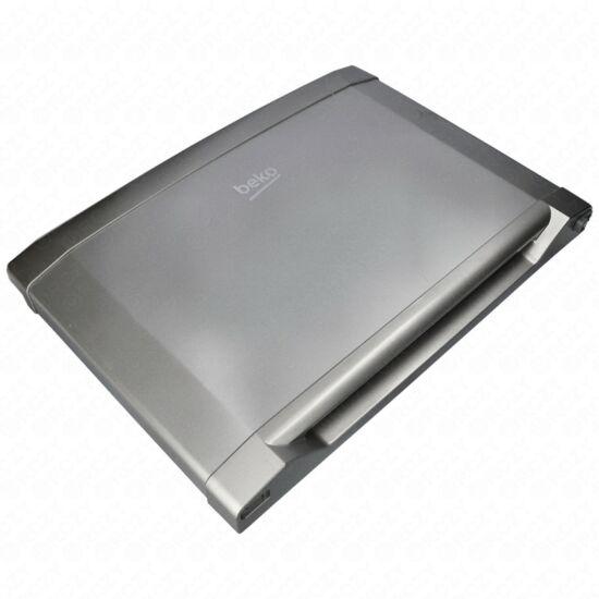 Ajtó, fagyasztótér (inox, eredeti, bontott) BEKO hűtő
