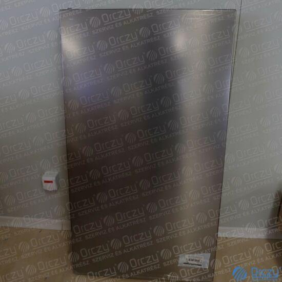 Ajtó normáltér komplett (eredeti, INOX) BEKO hűtőgép / RENDELÉSRE