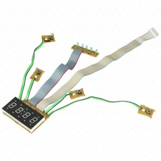 Elektronika (kijelző, eredeti) WHIRLPOOL mikrohullámú sütő / RENDELÉSRE