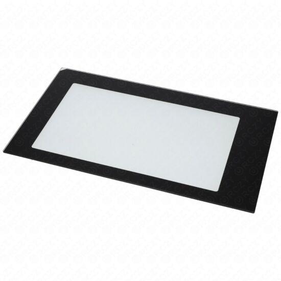 Üveg, ajtó külsö (eredeti) WHIRLPOOL mikrohullámú sütő / RENDELÉSRE