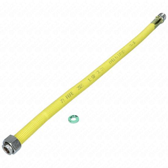 50-100 cm-es nyújtható gázbekötő cső 1/2-1/2KB PEPE