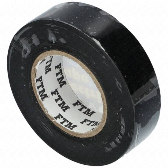 Szigetelőszalag 19x20m (PVC) fekete