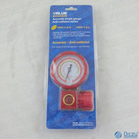 Csaptelep egycsapos, analóg VMG-1-S-H ( R410A, R134a, R407C, R404A hűtőközegekhez) VALUE