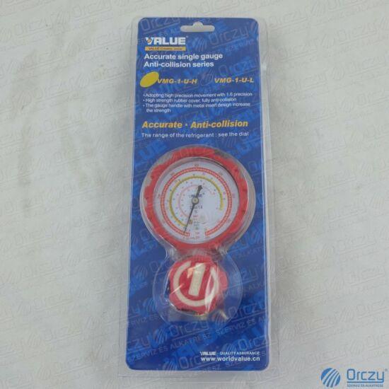 Csaptelep egycsapos, analóg VMG-1-U-H ( R410A, R134a, R407C, R404A hűtőközegekhez) VALUE